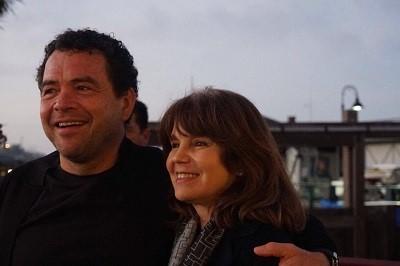 With my wife Lucía Rangel