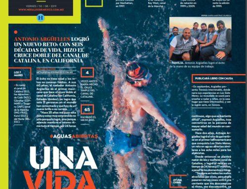 Cobertura Heraldo de México – Doble Cruce Canal de Catalina 2019