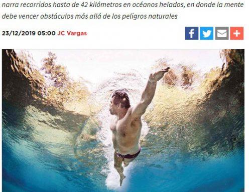 Travesía interminable; nadador de aguas abiertas – Excelsior