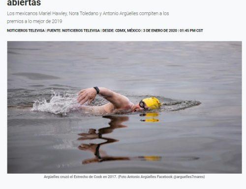 Nominan a 3 mexicanos a lo mejor en natación de aguas abiertas – Noticieros Televisa